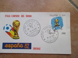 1982 Italia Campione Del Mondo CALCIO Football Soccer N.1 Valore L.1000 - 1981-90: Marcofilia