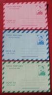 Turkey 1965 Aerogramme Stamped Stationary 60, 125 & 175 Kurus Unused Mint - 1921-... Republic