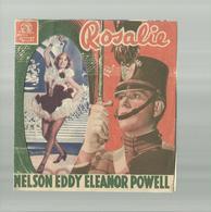 """-**ROSALIE   **- """"""""NELSON  EDDY -ELEANOR POWELL-Metro  GOLDWYN MAYER- - Cinema Advertisement"""