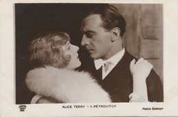 Ivan Petrovic Born In Novi Sad Actor With  Alice Terry Born In Vincennes  Indiana Dead In Burbank CA  Metro Goldwyn - Serbie