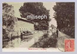 SEVRAN - Le Canal - Editeur: Simi-Bromure  A. Breger Frères - Paris  ( Chargement Bateau )  (4570) - Sevran