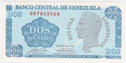 Venezuela P 69 - 2 Bolivares 5.10.1989 - UNC - Venezuela