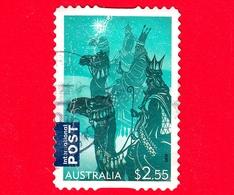 AUSTRALIA  - Usato - 2016 - Natale - Christmas - I Tre Re Magi - Cammelli - 2.55 - 2010-... Elizabeth II