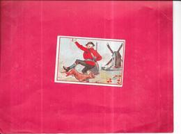 CHROMO Le Lapin Et Le Chasseur - BARA11/ROY - - Chromos