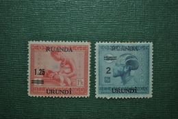 Ruanda-Urundi 1931 MH Défectueux - 1924-44: Neufs