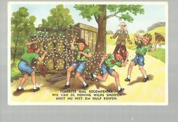 ** .  BOYS-SCOUTS        **---Temerite Mal  Récompensée .......    . . . . . . . . . . - Scoutisme