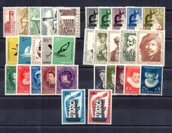 Pays-Bas Sept Séries Complètes Neufs ** MNH 1955/1957. Bonnes Valeurs. TB. A Saisir! - 1949-1980 (Juliana)