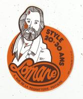 Autocollant ,  LOMANE ,  Style 20-30 Ans ,  Poitiers - Stickers