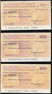 °°° MINIASSEGNI BANCA POPOLARE DI MILANO 1976/77 °°° - [10] Checks And Mini-checks