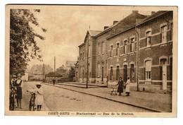 Geetbets / Geet-Betz - Statiestraat - Rue De La Station - Circulée En 1939 - Uitg. F. Stas  - 2 Scans - Geetbets
