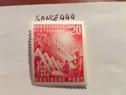 Germany Bundestag 1949 1v Mnh - [7] Federal Republic