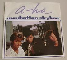 A-ha 45t Manhattan Skyline VG NM - Disco, Pop