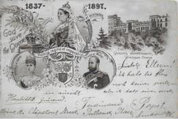 AK 0272  God Save The Queen - Victoria Regina Et Imperatrix 1837 - 1897 - Königshäuser