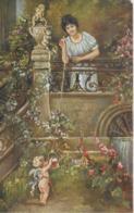 AK 0272  Hansa , A. - Liebesbotschaft / Künstlerkarte Um 1910-20 - Malerei & Gemälde