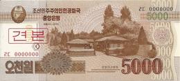 COREE DU NORD 5000 WON 2013 UNC P 67 S - Corée Du Nord