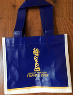 FRANCE 2019 WOMENS WORLD CUP FOOTBALL (Small Bag) Format 22 X 19 Cm. - Apparel, Souvenirs & Other