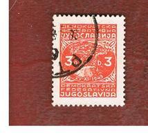 JUGOSLAVIA (YUGOSLAVIA)   - SG 507   -    1945 CITY VIEW OF JAJCE   -   USED - Usati