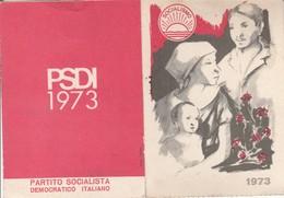 TESSERA - PARTITO SOCIALISTA DEMOCRATICO ITALIANO......S8 - Partiti Politici & Elezioni