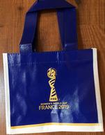 FRANCE 2019 WOMENS WORLD CUP FOOTBALL (Small Bag) Format 22 X 19 Cm. - Obj. 'Souvenir De'