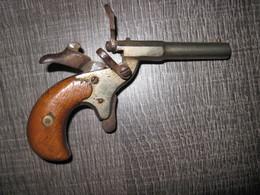 Ancien Pistolet De Cycliste Fonctionne Parfaitement - Armes Neutralisées