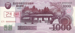 COREE DU NORD 1000 WON 2008 UNC P 64 S - Corée Du Nord