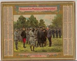 ALMANACH  DES  POSTES  ANNÉE  1918   /   DÉCORATION  D ' AVIATEURS - Calendari
