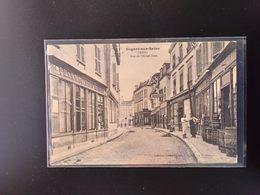 CPA.(10) NOGENT SUR SEINE.Rue De L'Hôtel Dieu.  Animation  (G Bis 793). - Nogent-sur-Seine