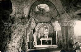 13493647 Sers_Charente Notre Dame De Bellevau Intérieur Chapelle Monolithe VIe S - Non Classés