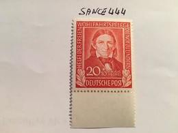 Germany Welfare 20+10p Mnh 1949 - Unused Stamps