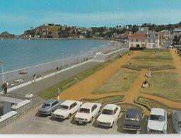 LE VAL ANDRE (22). Pointe De Piégu Et Le Verdelet. Au Premier Plan La Plage. Voitures: Peugeot (Transports: Automobile) - Autres Communes