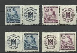 Böhmen Und Mähren 62/63 ** 4 Zdr. - Allemagne