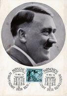 (313) WK II 3. Reich Propaganda Postkarte Der Führer Adolf Hitler - Weltkrieg 1939-45