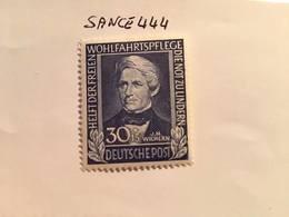 Germany Welfare 30+15p Mnh 1949 - Unused Stamps