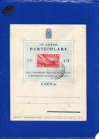 ##(DAN197)-Italy 1947 -Busta Associazione Filatelica Lucchese Con P.A.L.10 Annullo II^Settimana Filatelica Toscana-Lucca - 6. 1946-.. Repubblica