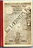 PARIS - Manufactures De Faïences Jules LOEBNITZ Et Fils - Rare Ouvrage De Présentation + Tarifs - 1893 -  Voir Scan - Books, Magazines, Comics