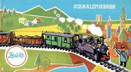 Catalogue ZEUKE & WEGWERTH 1964 HOm Schmalspurbahn (L.Herr Gulli) DDR - Livres Et Magazines