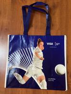 FRANCE 2019 WOMENS WORLD CUP FOOTBALL (Grand Sac) Format 42x38 Cm. (Eugenie Le Sommer & Lucy Bronze) Etat Neuf - Obj. 'Souvenir De'