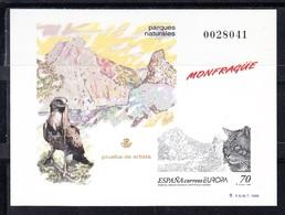 PRUEBA OFICIAL Nº 69 (EDIFIL) 1999  - PARQUE NATURAL MONFRAGUE (CACERES) - PRUEBA DE ARTISTA - OFERTA POR LIQUIDACIÓN - 1991-00 Nuevos & Fijasellos