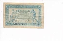 Billet Trésorerie Aux Armées  Cinquante Centimes   ( En Mauvais état ) - Tesoro
