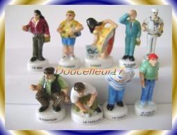 Boulistes... Serie Complète De 9 Fèves .. Ref. AFF :34-2003 ... ( Pan 0028) - Personnages