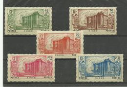 Révolution, 1939, Niger N° 69/ 73 Neufs ** MNH, Cote YT 75€ - 1939 150e Anniversaire De La Révolution Française