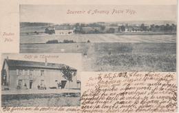 57 - AVANCY PAR VIGY - 2 VUES - CAFE DE L'ESPERANCE AU SOLEIL D'OR - France