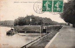 96Ve   58 Decize Le Touage Canal De La Jonction - Decize