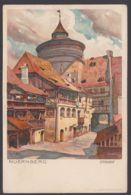 """""""Nürnberg"""", Sternhof, Farbige Künstlerkarte, Sign. Mutter, Ca. 1900 - Nürnberg"""