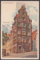 """Nürnberg"", Toplerhaus, Farbige Künstlerkarte, Sign. Mutter, Ca. 1900 - Nürnberg"