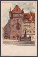 """""""Nürnberg"""", Farbige Künstlerkarte, Sign. Mutter, Ca. 1900 - Nürnberg"""