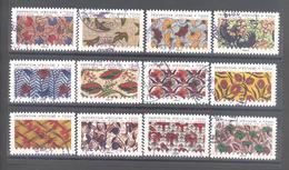 France Autoadhésifs Oblitérés (Série Complète : Inspirations Africaines) (cachet Rond) - Used Stamps