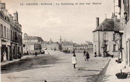 96Ve   58 Decize St Privé Le Faubourg Et Vue Sur La Ville - Decize