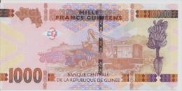 GUINEA P. 48 1000 F 2015 UNC - Guinea