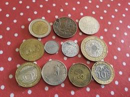 Lot 11 Pièces Voir Le Scan - Coins & Banknotes